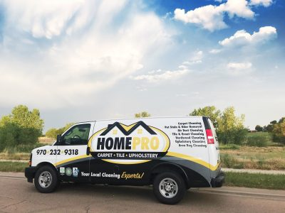 Carpet Cleaning Fort Collins CO - Work Truck